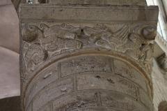 Abbaye de la Couture - Français:   Chapiteau du chœur de l'église Notre-Dame-de-la-Couture du Mans (72).
