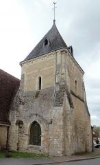 Eglise Saint-Germain - Français:   Préaux-du-Perche (Normandie, France). Le clocher de l'église Saint-Germain.