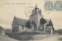 Eglise Saint-Germain - Français:   L'église vers 1904