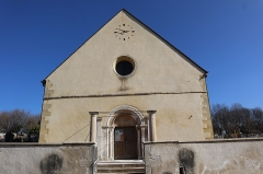 Eglise - Français:   Extérieur de l\'église Saint-Pierre à Arceau (21).