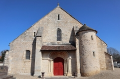 Eglise Saint-Martin - Français:   Extérieur de l'église Saint-Martin de Bézouotte (21).