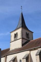 Eglise Saint-Martin - Français:   Extérieur de l'église Saint-Martin de Gissey-sous-Flavigny (21).