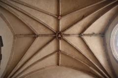 Eglise Saint-Germain d'Auxerre - Français:   Intérieur de l'église Saint-Germain de Vitteaux (21). Voûtes de la 2ème chapelle sud.