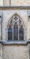 Cathédrale Saint-Cyr et Sainte-Julitte - English:  Window of the Saints Quiricus and Julietta cathedral in Nevers, Nièvre, France