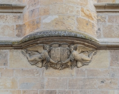 Palais Ducal - English:   Relief on the southern facade of the Ducal Palace in Nevers, Nièvre, France