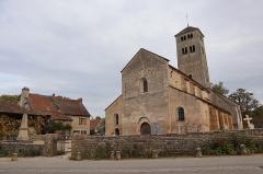 Eglise Saint-Martin - Français:   Vue extérieure de l'église Saint-Martin à Chapaize (71).