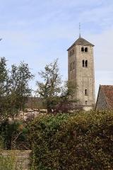 Eglise Saint-Martin - Français:   Vue extérieure de l'église Saint-Martin à Chapaize (71). Clocher.