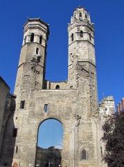 Cathédrale Saint-Vincent - Français:   Vestiges de l\'ancienne cathédrale Saint-Vincent