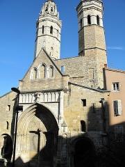 Cathédrale Saint-Vincent - English:   Back of the cathedral Vieux (=old) Saint-Vincent in Macon (Saône-et-Loire, France).