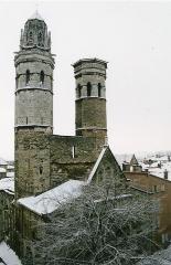 Cathédrale Saint-Vincent - Français:   Le Vieux-Saint-Vincent, ancienne cathédrale de Mâcon (Saône-et-Loire, sud de la Bourgogne, France)