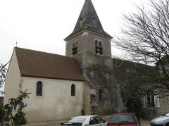 Eglise - Français:   Rogny-les-Sept-Écluses, l'église.