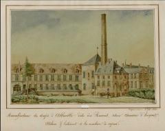 Ancienne manufacture des Rames - Français:   Manufacture des Rames - ateliers de la machine à vapeur