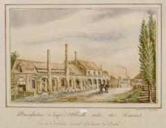 Ancienne manufacture des Rames - Français:   Manufacture des Rames - teinturerie