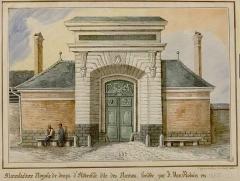 Ancienne manufacture des Rames - Français:   Manufacture royale de draps d'Abbeville dites des Rames, fondée par Van Robais