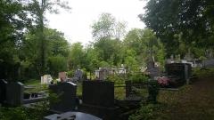 Cimetière de la Madeleine - Français:   Parterre de tombes