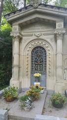 Cimetière de la Madeleine - Français:   Tombeau de la famille Carpentier-Ricquier