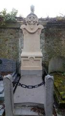 Cimetière de la Madeleine - Français:   Cimetière de La Madeleine d\'Amiens, tombe Choquart-Gransir