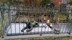 Cimetière de la Madeleine - Français:   Cimetière de La Madeleine d\'Amiens, tombe de Michelle Devisse
