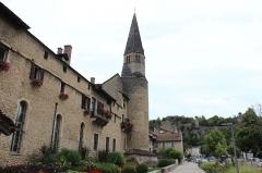 Eglise -  Clocher église des Augustins à Crémieu