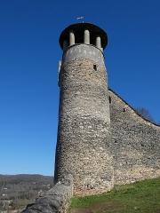 Tour de l'Horloge et tour carrée Saint-Hippolyte - Français:   Tour de l\'Horloge.