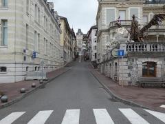 Hôtel de ville (ancien hôtel de la famille Lumière) - Français:   Depuis le quai Charles-Albert Besson.