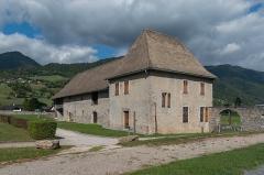 Abbaye de Mélan - English:   Stable of the Mélan carthusian monastery in Taninges, Haute-Savoie, France