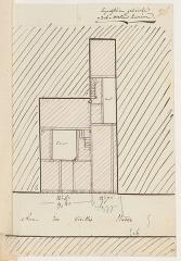 Immeuble - Français:   Plan cadastral immeuble 5 - 7 rue Sauval Paris 75001