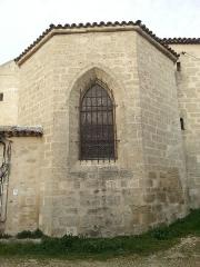Eglise paroissiale Saint-Amand - Français:   Église de Saint-Amand de Sénas - Vue partielle de l'est - Bouches du Rhône - France