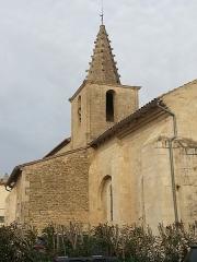 Eglise paroissiale Saint-Amand - Français:   Église de Saint-Amand de Sénas - Vue d'ensemble du SE - Bouches du Rhône - France
