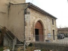 Eglise paroissiale Saint-Amand - Français:   Église de Saint-Amand de Sénas - Entrée - Narthex - Bouches du Rhône - France