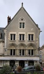 Maisons canoniales - Français:   Maison, 2 cloître Notre-Dame, Chartres.