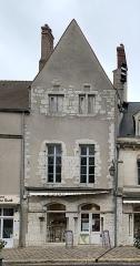 Maisons canoniales - Français:   Maison, 6 cloître Notre-Dame, Chartres.