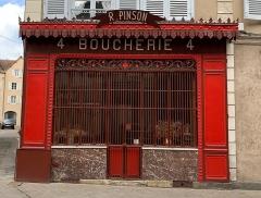 Boucherie Pinson - Français:   Boucherie Pinson, Chartres.