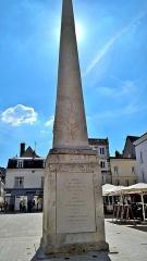 Monument à Marceau dit «Colonne Marceau» - Français:   Streets of Chartres
