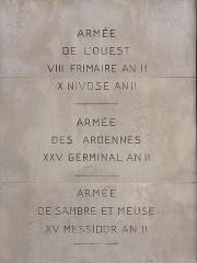 Monument à Marceau dit «Colonne Marceau» - Français:   Colonne Marceau, Chartres.