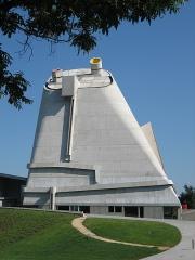 Eglise Saint-Pierre de Firminy - Deutsch:   Kirche St Pierre in Firminy von Le Corbusier