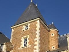Hôtel Brachet, dit aussi hôtel de la Vieille Intendance - Français:   Hôtel de la Vieille Intendance, tribunal administratif d'Orléans (Loiret, France): façade méridionale