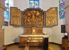 Chapelle de pèlerinage Notre-Dame du Schauenberg - Français:   Retable de la chapelle Notre-Dame du Schauenberg à Pfaffenheim (Haut-Rhin, France).