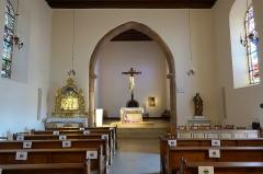 Chapelle de pèlerinage Notre-Dame du Schauenberg - Français:   Intérieur de la cChapelle Notre-Dame du Schauenberg à Pfaffenheim (Haut-Rhin, France).