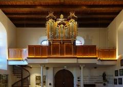 Chapelle de pèlerinage Notre-Dame du Schauenberg - Français:   Orgue de la chapelle Notre-Dame du Schauenberg à Pfaffenheim (Haut-Rhin, France).