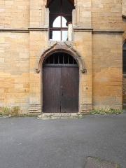 Chapelle des Prébendiers dite chapelle Sainte-Catherine - Français:   Porte de la chapelle Sainte-Catherine.