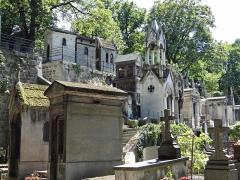 Cimetière Montmartre - Français:   Cimetière de Montmartre - En flânant ...