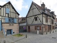 Onze maisons anciennes du quartier Saint-Leu - Français:   Quartier de Saint-Leu Rue Motte Amiens