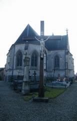 Eglise Saint-Martin - Français:   L'église de Regnière-Écluse.