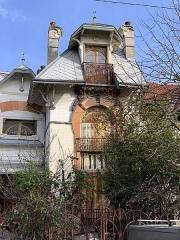Maison d'Albert Nachbaur - Français:   Maison d'Albert Nachbaur, Nogent-sur-Marne.
