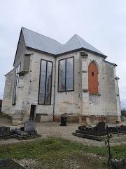 Eglise Saint-Loup - Français:   EGLISE DE THUISY EN ATTENTE DE RESTAURATION