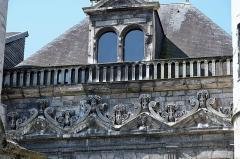 Hôtel de Vauluisant -   Troyes (Aube) - Musée de Vauluisant (détail). .  <a href=\