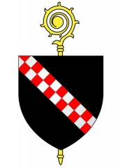 Ancienne abbaye de Clairvaux - English:   Coat of arms of Clairvaux Abbey