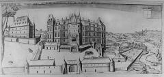 Château, parc et grange aux dîmes - French architect, civil engineer, topographer and drawer