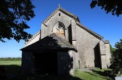 Eglise Saint-Symphorien d'Aubigny - Français:   Extérieur de l\'église Saint-Symphorien à Aubigny-sur-Badin (52).